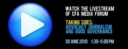 Watch the Livestream of CFA Media Forum This Friday