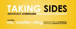 Taking Sides: Advocacy Journalism and Good Governance