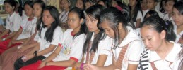 Culiat High School Peace Campers Light the Path for Peace