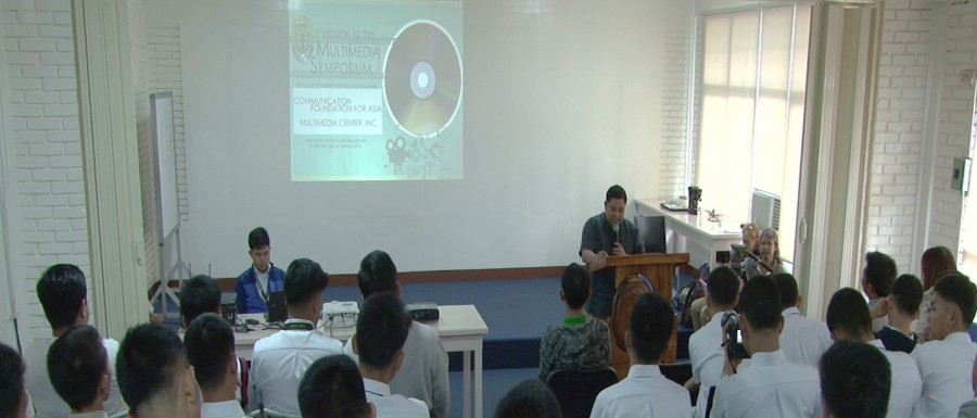 CFA's Electronic Media Department gives film making workshop at Oblates of St. Joseph (OSJ)