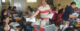CFA Shows Calamba Teachers How To Do Powerpoint animation