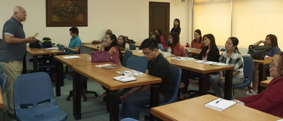 "CFA's Flying Team conducts ""How to Use CFA Magazines"" Workshop at Holy Angel University"