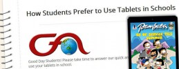 How Do Students Use Their Tablets? CFA Wants to Know